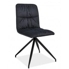 Smartshop Jídelní čalouněná židle Alex, grafit