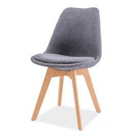 Jídelní židle DIOR, buk/tmavě šedá