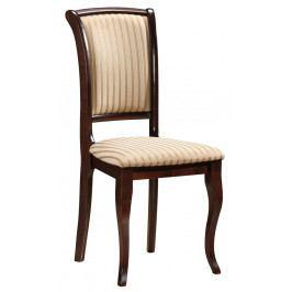 Jídelní čalouněná židle MN-SC, ořech/T19