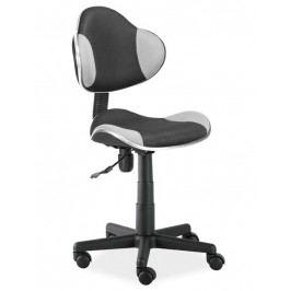 Kancelářská židle Q-G2, černá/šedá
