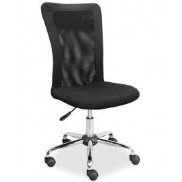 Kancelářská židle Q-122, černá