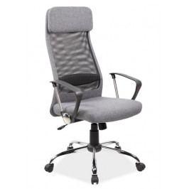 Kancelářské křeslo Q-345, šedá