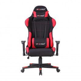 Kancelářské křeslo SPEED RACER, černá/červená