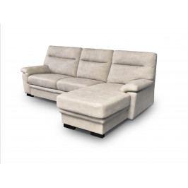 Smartshop Rohová sedačka CAORLE OT + 2,5F 1, pravá, světle béžová ekokůže