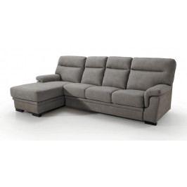 Smartshop Rohová sedačka CAORLE OT + 3F 2, levá, grafitová látka