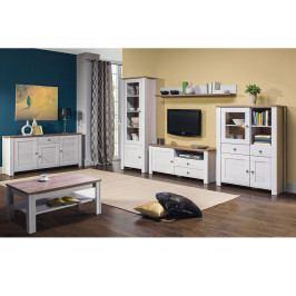 DELUXE obývací pokoj, modřín sibiřský/dub