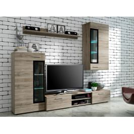 Smartshop  Obývací stěna TANGO, san remo tmavé
