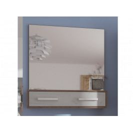 Zrcadlo RIO 10, craft tobaco/craft bílý