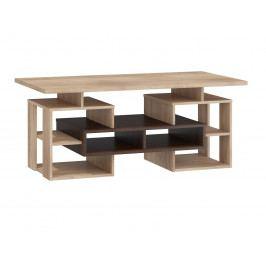 Konferenční stolek W RIO 13, dub sonoma tmavý/dub sonoma