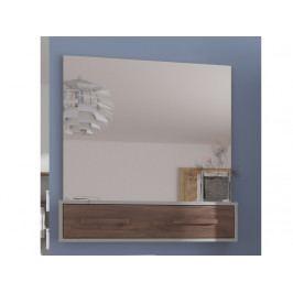 Zrcadlo RIO 10, craft bílý/craft tobaco