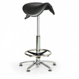B2B Partner Pracovní stolička PUR, vysoká, sedák ve tvaru sedla