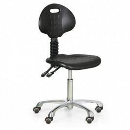 B2B Partner Pracovní židle PUR, bez područek, kovový kříž