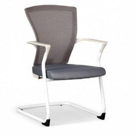 B2B Partner Konferenční židle BRET, bílá/šedá