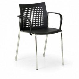 B2B Partner Jídelní židle Coffee Break, černá