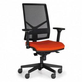 Antares Kancelářská židle OMNIA, oranžová