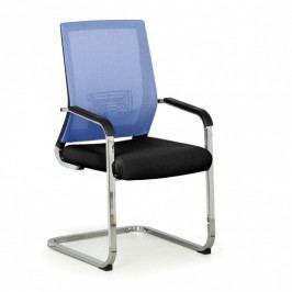B2B Partner Konferenční židle ELITE NET, modrá/černá