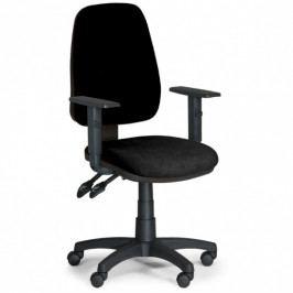 B2B Partner Kancelářská židle ALEX s područkami - černá