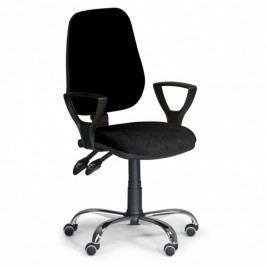 B2B Partner Kancelářská židle COMFORT s područkami, černá