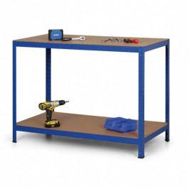 B2B Partner Regálový stůl, MDF police, 900 x 1200 x 600mm