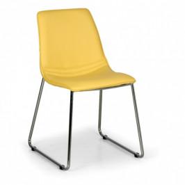 Židle SPRING 3+1 ZDARMA, žlutá