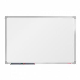 boardOK Bílá magnetická popisovací tabule boardOK, 90 x 60 cm, eloxovaný rám