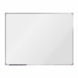 boardOK Bílá magnetická popisovací tabule boardOK, 120 x 90 cm, eloxovaný rám