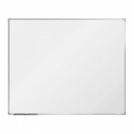 boardOK Bílá magnetická popisovací tabule boardOK, 150 x 120 cm, eloxovaný rám