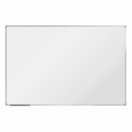 boardOK Bílá magnetická popisovací tabule boardOK, 180 x 120 cm, eloxovaný rám
