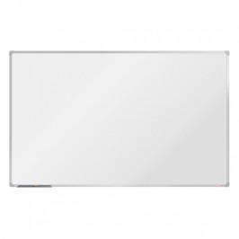 boardOK Bílá magnetická popisovací tabule boardOK, 200x120 cm, eloxovaný rám