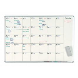 ekoTAB Měsíční plánovací tabule ekoTAB, 100x70 cm, lakovaná