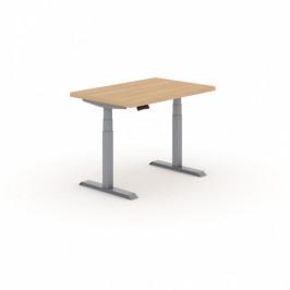 B2B Partner Výškově nastavitelný stůl do dílny, 2 motory, 1200 x 800 mm
