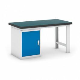 B2B Partner Dílenský stůl GB se skříňkou, 1500 mm