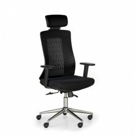 B2B Partner Kancelářská židle EDEN, černá/černá