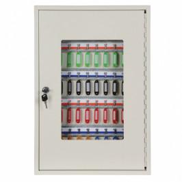 B2B Partner Kovová skříňka na klíče 55 x 38 x 8 cm, 50 ks