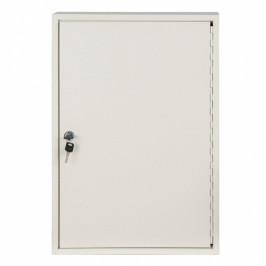 B2B Partner Kovová skříňka na klíče 55 x 38 x 8 cm, 100 ks