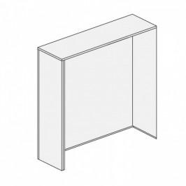 B2B Partner Kryt pro dvě skříňky SEGMENT, bílá