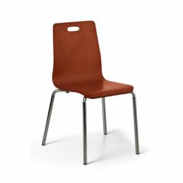 B2B Partner Jídelní židle Betty, ořech, balení 4 ks