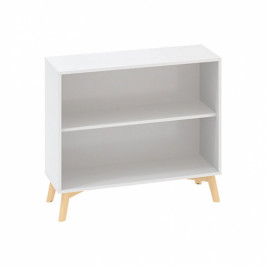 Interier Říčany Kancelářská skříň bez dveří ROOT 1000 x 450 x 887 mm, bílá