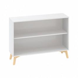 Interier Říčany Kancelářská skříň bez dveří ROOT 1200 x 450 x 887 mm, bílá