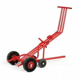 Vozík na manipulaci se sudem s pomocnou tyčí
