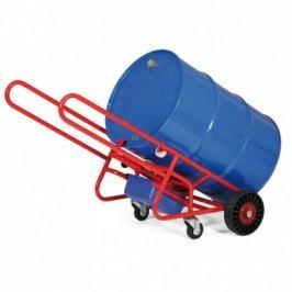 Vozík na sudy s pomocnými koly
