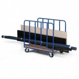 Vozíky na dlouhý materiál, 1070 x 700 mm
