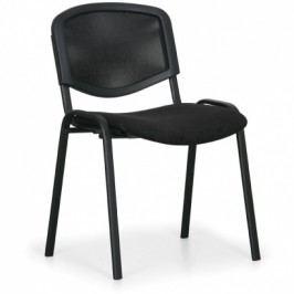 Konferenční židle Viva Mesh - černé nohy, černá