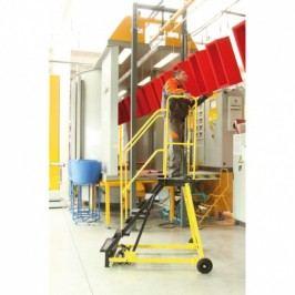 Plošinový žebřík - plošina 1,35 m, vodovzdroná překližka