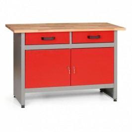 MARS Pracovní stůl se zásuvkami a skříňkami