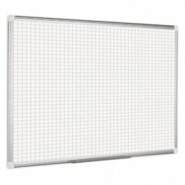 Bi-Office Rastrovaná popisovací tabule, rastr 2x2 cm - 1800x1200 mm