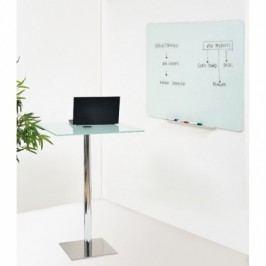 Bi-Office Skleněná popisovací tabule, bílá, 900x600 mm