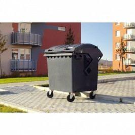 Plastový kontejner na odpady CLE 1100, žlutý
