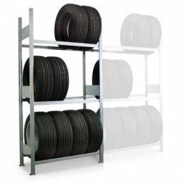 META Regál na pneumatiky, 2000x1300x400 mm, základní