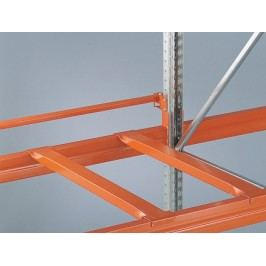 META Příčníky pro paletové regály, hloubka 800 mm, 2 ks